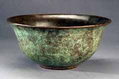 Green Patina Bowl